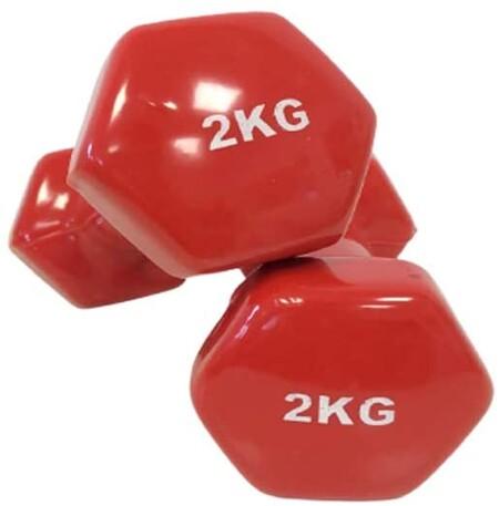 pesas de dos kilos