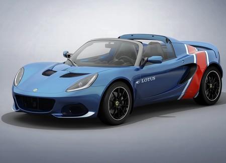 Lotus lanza cuatro ediciones especiales del deportivo Elise con tributo a las carreras