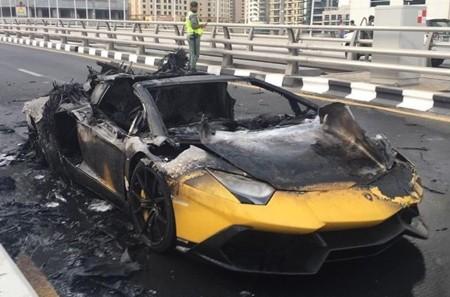 Dolorpasión™: El Lamborghini Aventador 50 aniversario que se convirtió en cenizas