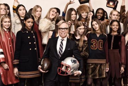 El partido de fútbol americano más fashion del mundo, así fue el desfile de Tommy Hilfiguer en Nueva York