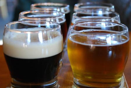 diferentes variedades de cerveza