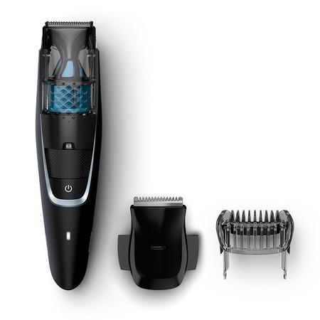 No sólo corta la barba sino que además aspira los pelos: el barbero Philips Serie 7000 está rebajado a 47,62 euros en Amazon