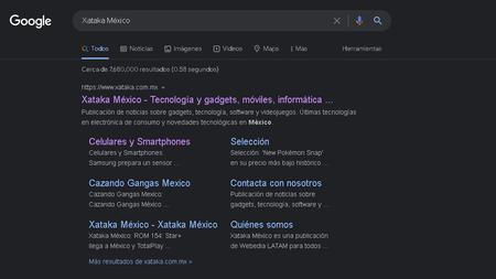 Google.com ya tiene modo oscuro en escritorio: así puedes activar el nuevo dark mode del buscador web en México