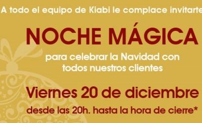 "Kiabi celebra este viernes su ""Noche Mágica"""