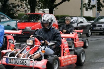 Alquila un karting para recorrer Berlín