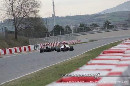 Galería de fotos de las pruebas de la GP3 en Barcelona