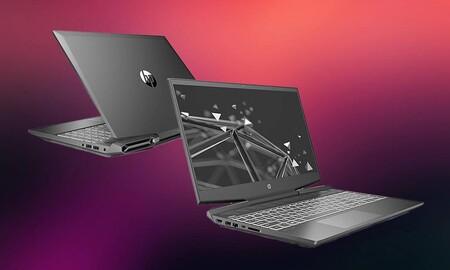 Amazon tiene a precio mínimo el potente portátil gaming HP Pavilion Gaming 16-a0033ns. Por 999,99 euros te estarás ahorrando 400