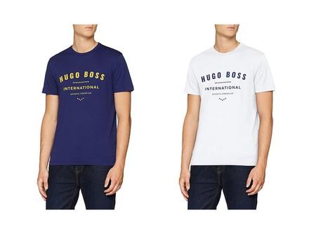 Desde 19,06 euros tenemos esta camiseta Hugo Boss en variso colores en Amazon