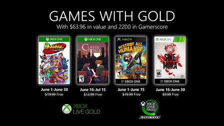 Shantae and the Pirate's Curse y Sine Mora entre los juegos de Games with Gold de junio de 2020