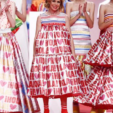 Ágatha Ruiz de la Prada es fiel a su estilo en una colección Primavera-Verano 2020 que homenajea a uno de los logos más famosos de nuestro país