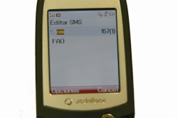 Vodafone pone un SMS de ayuda a la FAO