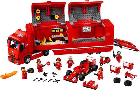 LEGO Speed Champions: el fruto de la alianza entre LEGO, Ferrari, McLaren y Porsche