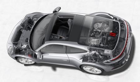 Porsche 911 992: tecnología