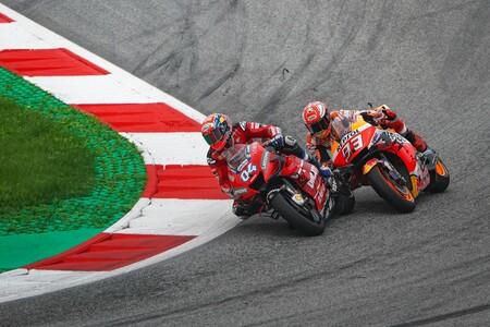 Dovizioso Marquez Austria Motogp 2019