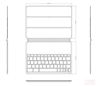 Así sería la funda con teclado que acompañaría al nuevo Nexus 9