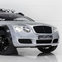 Este Bentley Continental GT todoterreno es tu ticket hacia la salvación