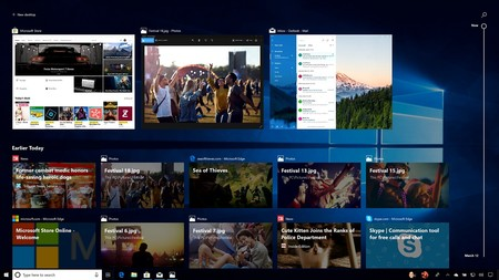 Windows 10 Actualizacion Abril Nueva Funcion Timeline