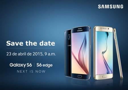 El Samsung Galaxy S6 ya tiene fecha de anuncio en México: 23 de abril