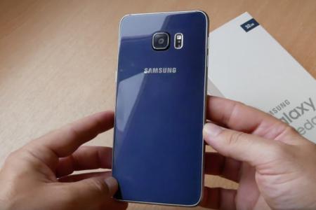 Galaxy S6 Edge Plus en azul