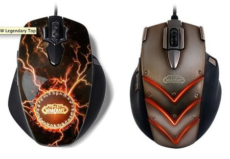 Steelseries MMO Gaming Mouse World of Warcraft Legendary Edition
