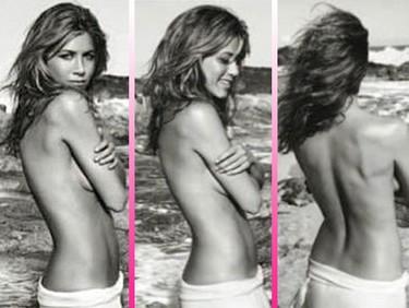 Jennifer Aniston se despelota para vender su nuevo perfume