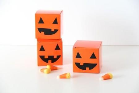 Tres cajitas DIY para los caramelos y golosinas de Halloween
