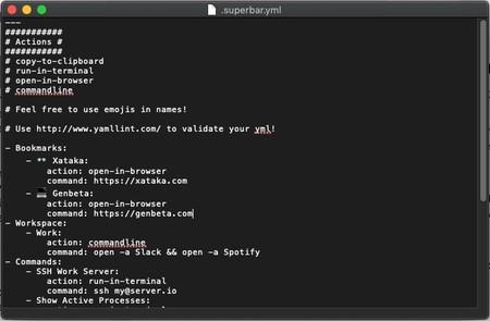 Superbar Yml Y Administrador De Aplicaciones