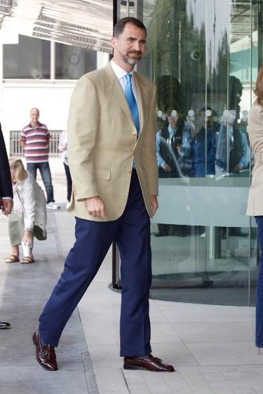 Boda Real Inglesa: el look del príncipe Felipe a su llegada a Londres