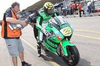 MotoGP Holanda 2010: Andrea Iannone otra pole, Álex Debón otra lesión