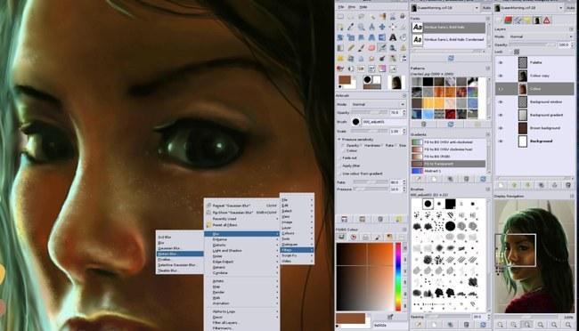 GIMP 2.8.2, ya nativo para OS X