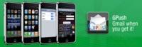 Gmail con push en el iPhone  a través de Gpush