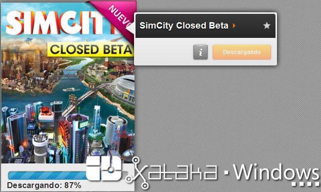 Instalando la beta privada de SimCity