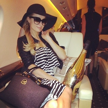Paris Hilton no necesita abuela, ella es lo más