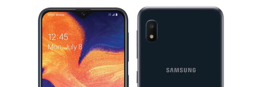 Samsung Galaxy™ A10e: la versión reducida del A10 llega con menos monitor y menos batería
