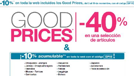 Vuelven los 'Good Price' a Pimkie hasta el 18 de noviembre
