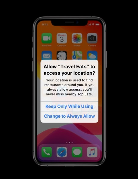 Permiso de localización siempre en iOS 13