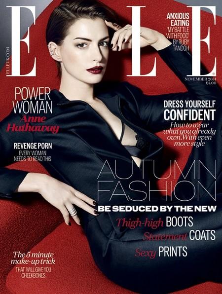 Elle UK: Anne Hathaway