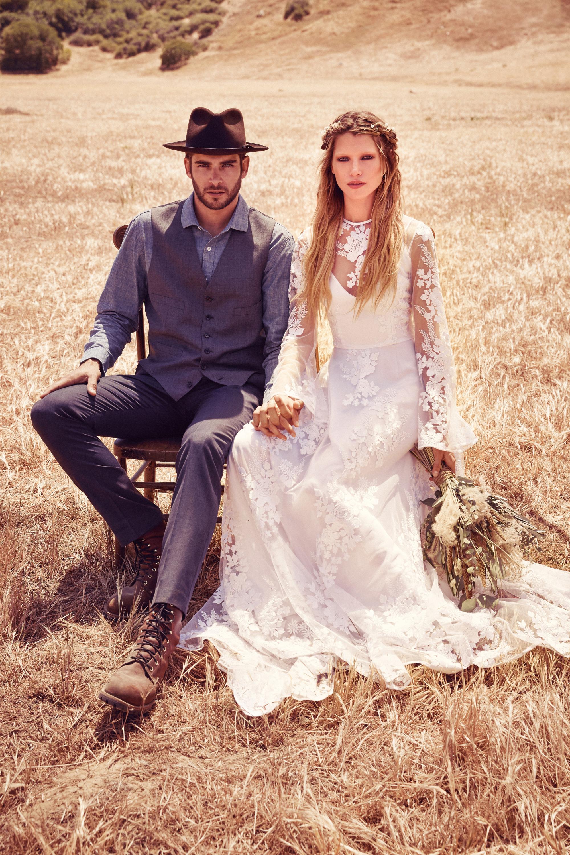 Foto de Free People Bohemian Bridal Collection 2015 (12/12)