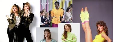 Hombreras, mangas abullonadas, minivestidos... La moda ochentera será tendencia este 2019