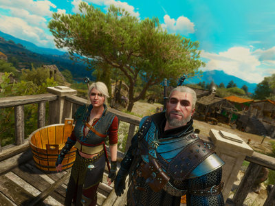 The Witcher III en primera persona sigue luciendo espectacular  y este mod es la prueba