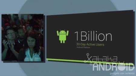 Android ya tiene más de 1.000 millones de usuarios activos cada mes