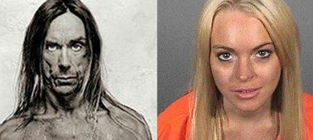 Iggy Pop quiere que Lindsay Lohan sea él en su peli, lo juramos