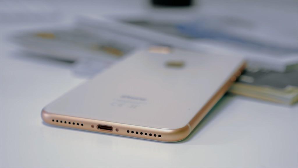 iPhone ocho Plus boceto trasera
