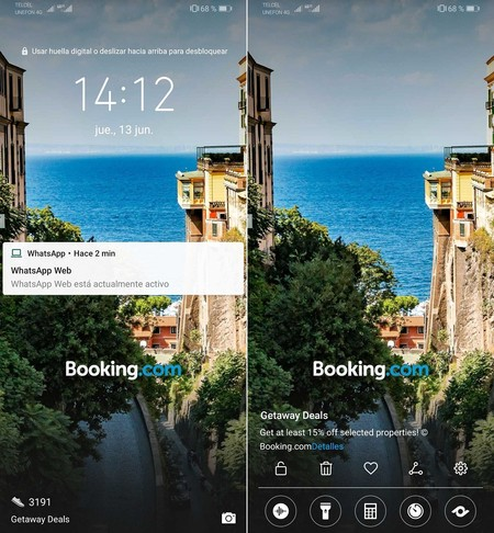 Publicidad Booking Smartphones Huawei Mexico