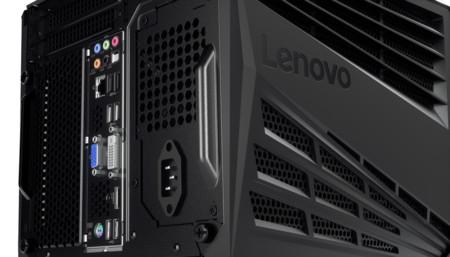 Lenovo Ideacentre Y710 Cube Lenovo Logo Closeup Port Jpg