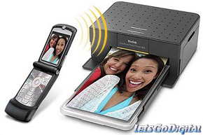 [Photokina 2006] Kodak EasyShare 350, impresora inalámbrica para móviles