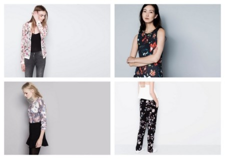 tendencias oi 2014/2015 flores pull and bear