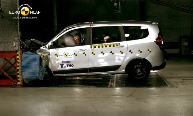 Dacia Lodgy en EuroNCAP