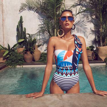 Estos son los 19 bañadores asimétricos más bonitos: la tendencia en moda de baño más estilosa del verano