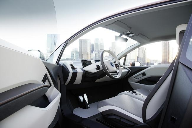 BMW i3 Concept Coupe - interior